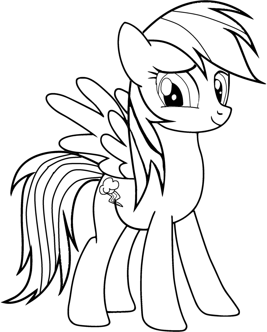Free Coloring Pages Of My Little Pony Friendship Is Magic Coloring