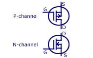 d-MOSFET Circuit Symbol