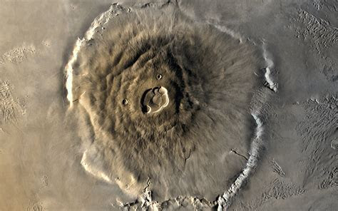 Mars' Olympus Mons widescreen wallpaper   HD Wallpapers