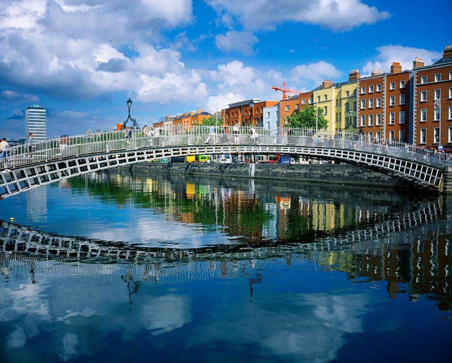 Αποτέλεσμα εικόνας για dublin ha penny bridge