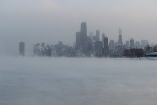 Chicago during the Polar Vortex