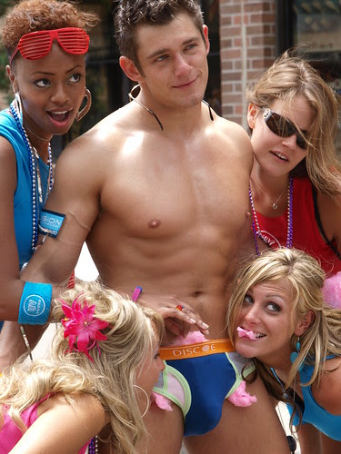 Ladies Clamoring for Your Candy: Every Straight Man's Fantasy