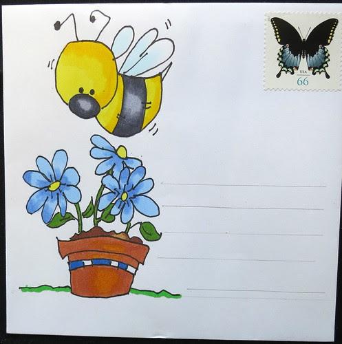 Mail art to Annie