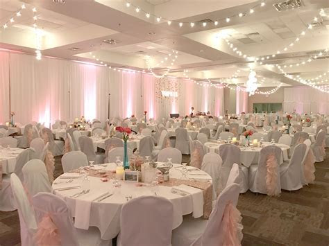 Blush Pink, Bright Pink, Teal and All the Decorations of