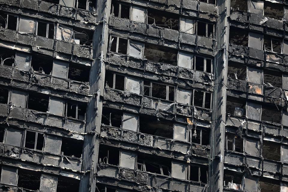 Pożar wieżowca