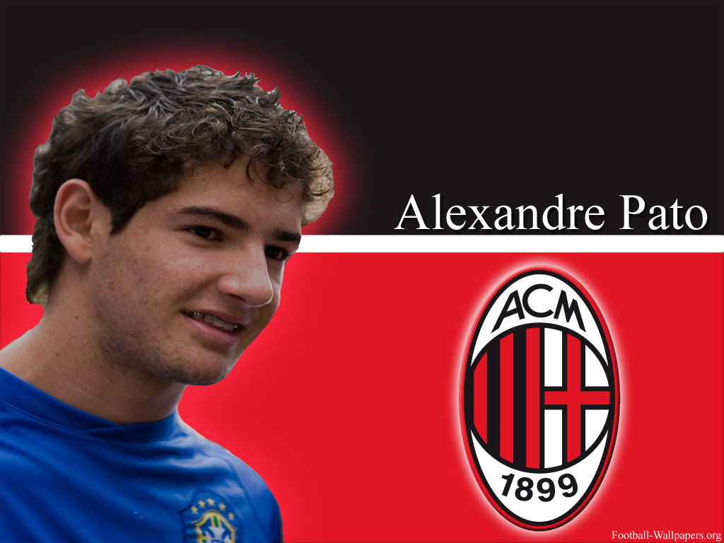 Alexandre Pato Wallpapers 1024 x 768 - Ac Milan
