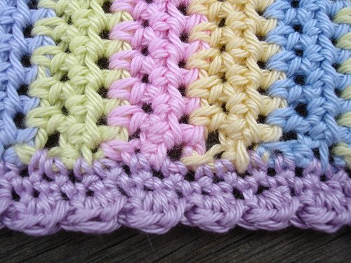 crochet summer bag WIP 002