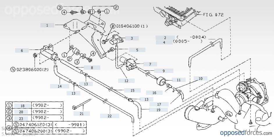 V4 Vacuum Diagram S Or Advice Please Scoobynet Com Subaru Enthusiast Forum