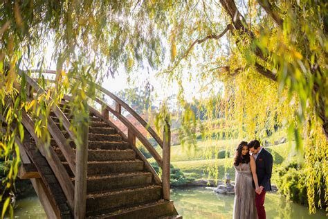Huntington Library Engagement   Renu & Ajay