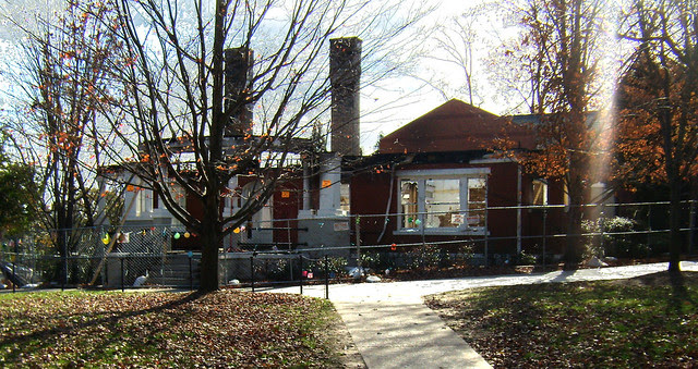 PB281979-2009-11-28-Goose-Burned-Paideia-School-North-Facade