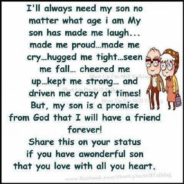 I Will Always Need My Son Pictures Photos And Images For Facebook