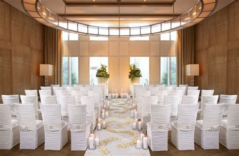 Modern Wedding Venues at Mandarin Oriental Las Vegas