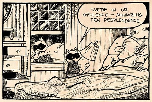 Laugh-Out-Loud Cats #1851 by Ape Lad