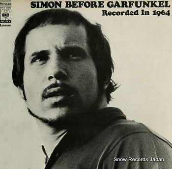 SIMON, PAUL simon before garfunkel