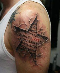 72 Ideas Originales De Tatuajes De Estrellas Con Significados