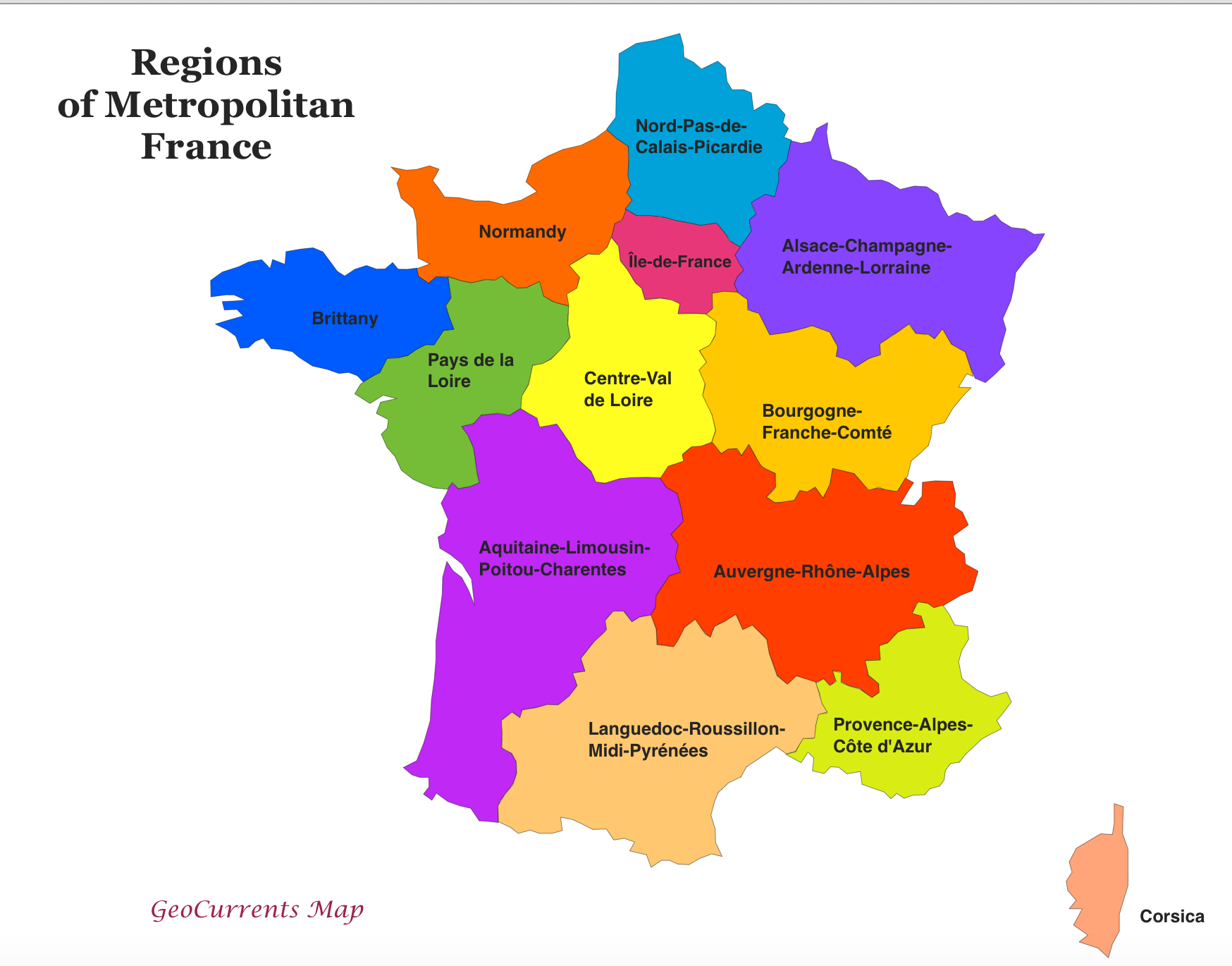 Map Of France Zones.Regions France Map Time Zones Map