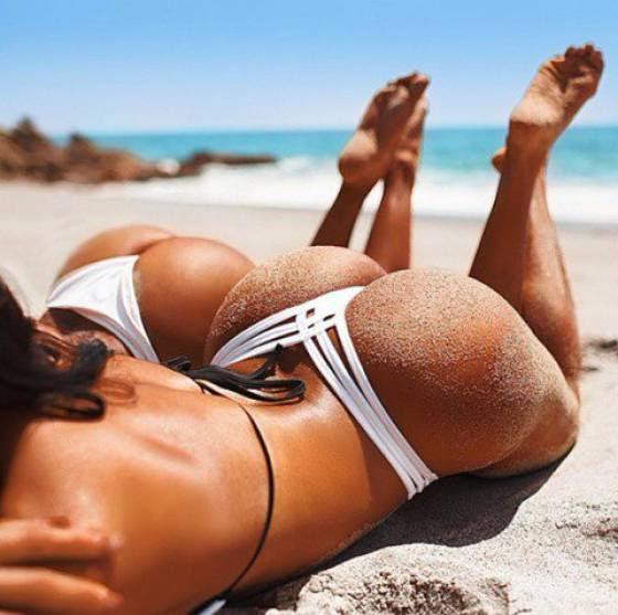 Απλά προσθέστε λίγη άμμο σε εκείνα τα οπίσθια, για να γίνουν ακόμα πιο τέλεια