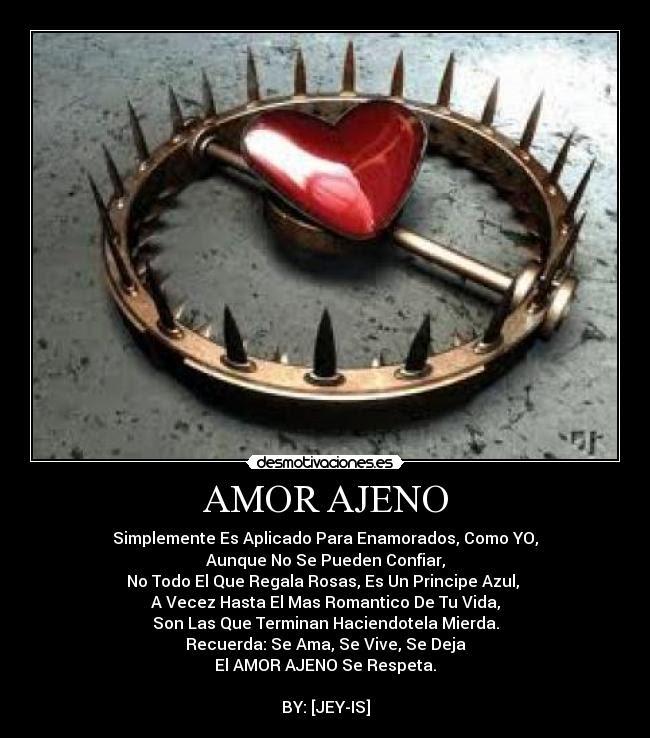 Amor Ajeno Desmotivaciones