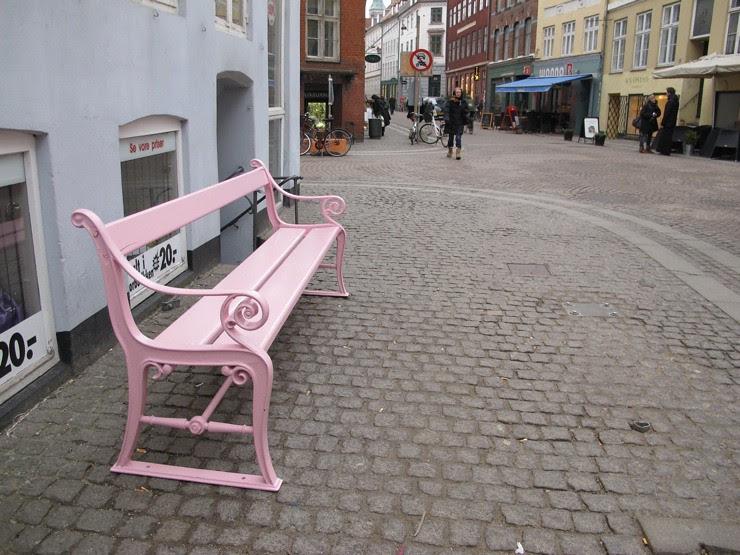 The Copenhagen bench