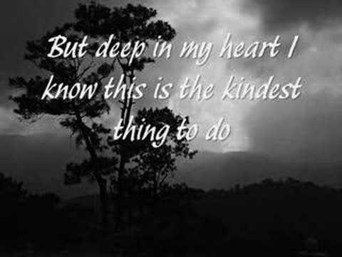 I Love You Goodbye Celine Dion Youtube