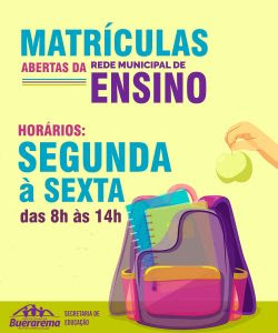 MATRICULAS ABERTAS 1