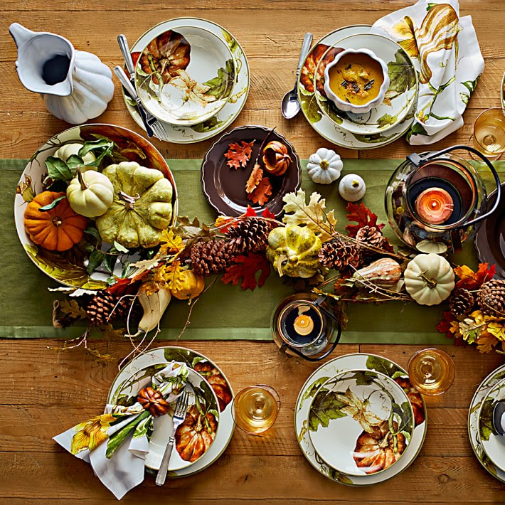 Botanical Pumpkin Dinnerware Collection