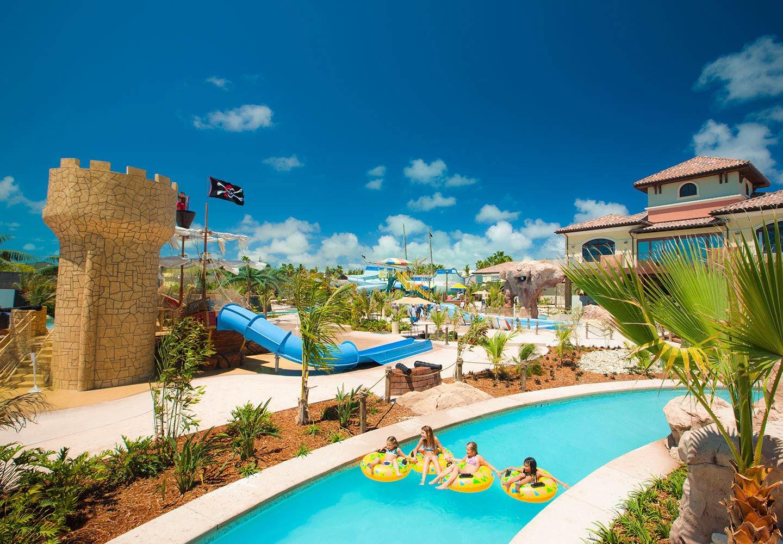 Pirate Island Waterpark at Turks  Caicos Resort  Beaches
