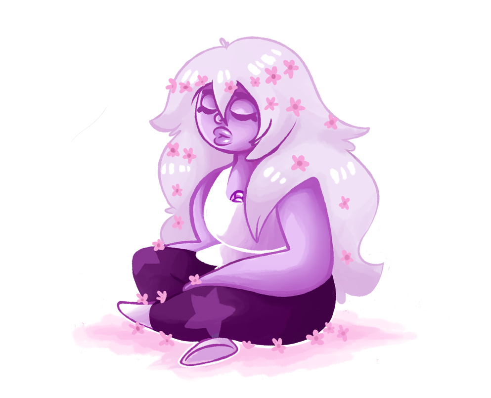 Sad amethyst needs some love