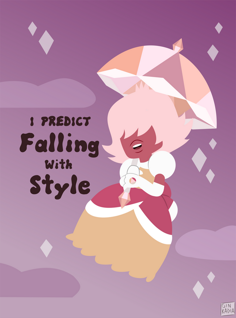 I rather enjoyed Padparadscha, who can only predict things that have already happened. Her weapon of choice hasn't been shown but since she looks like a mash up of Sapphire and Princess Daisy/Peach...