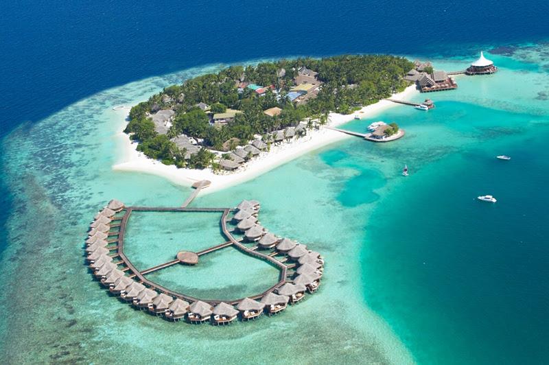 Most romantic Maldives resorts