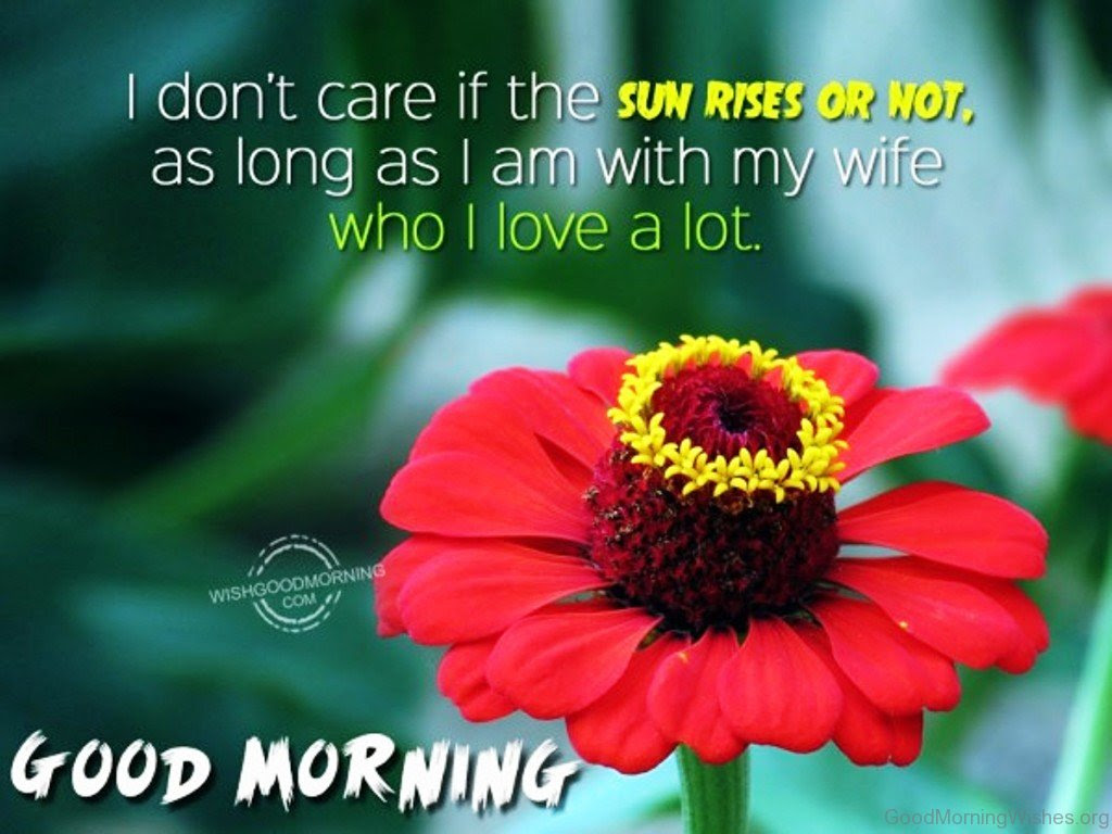 19 Good Morning Messages For Wife