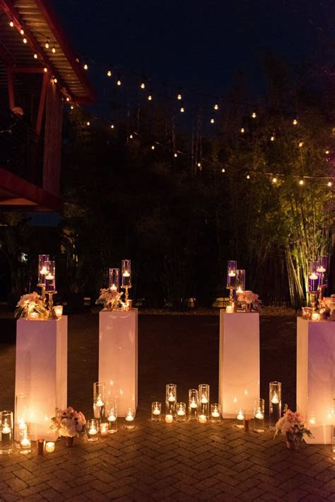 Best 25  Candlelight wedding ideas on Pinterest   Petite