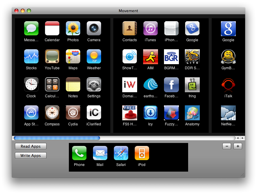 How to Organize Your iPhone Apps Using Movement iClarified