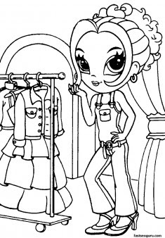 printable for girls lisa frank coloring pages  free