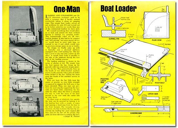 Boat loader plans | Katcida
