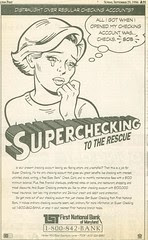 comics ad - Superchecking Wash Post 96-09-29