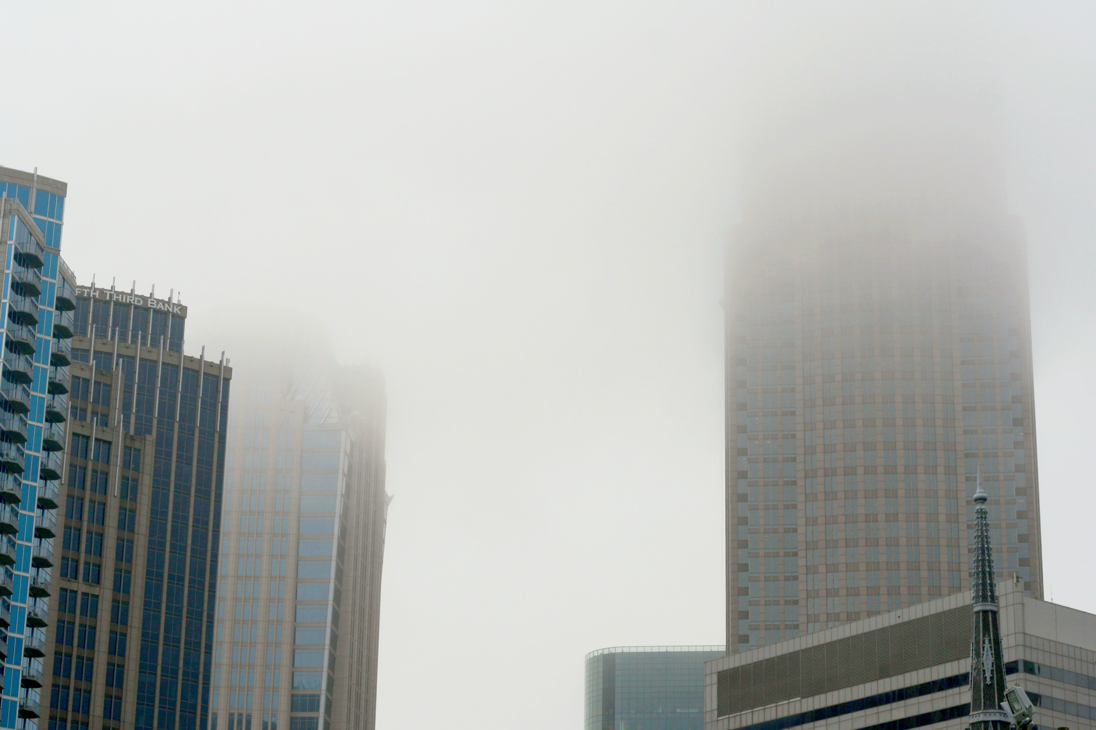 foggy cityscape charlotte, nc stylewiseguide.com