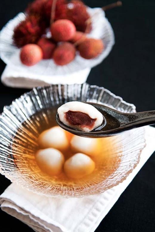 Vietnamese Glutinous Rice Balls with Black Sesame Seed Recipe