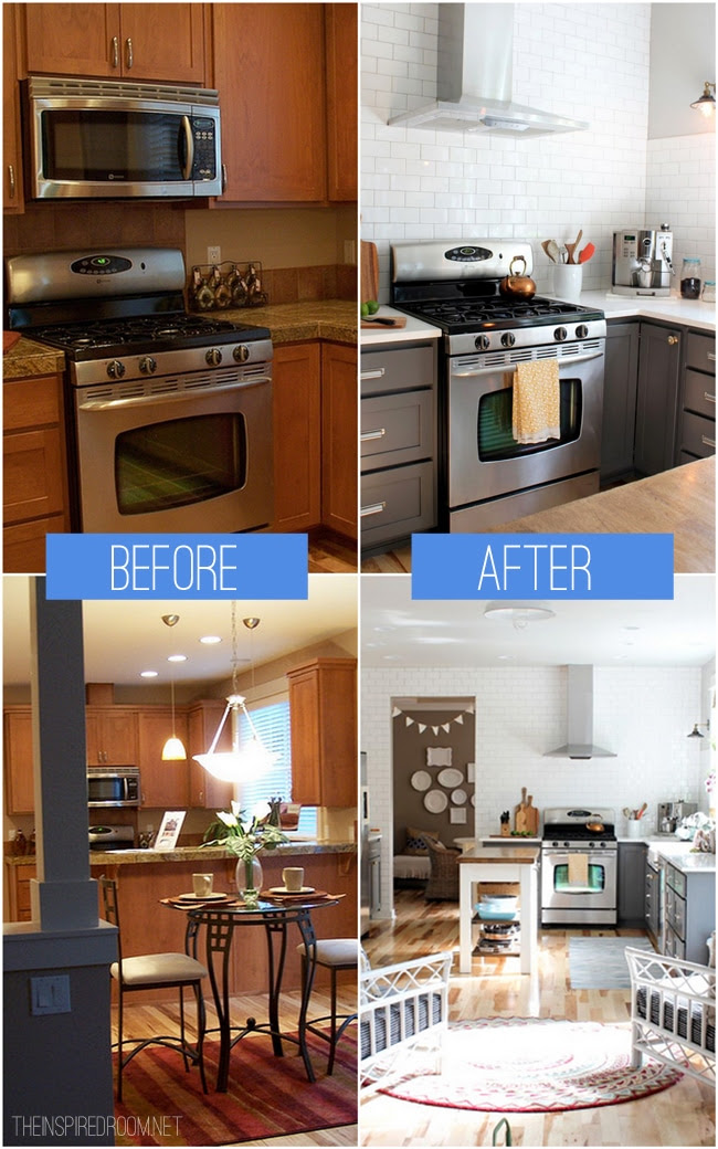 Admirable Before And After Pics Of Kitchens On A Budget Modern Home Home Interior And Landscaping Ologienasavecom