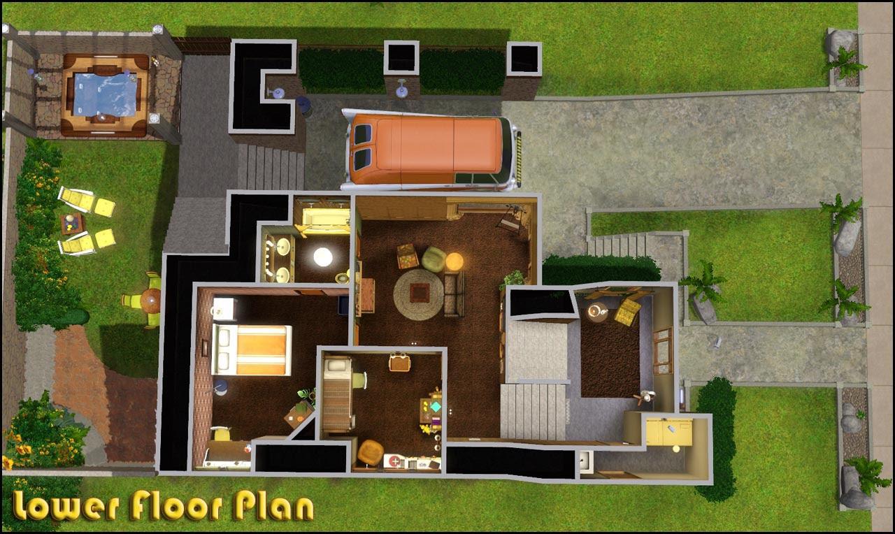 The Sims 4 Small House Design Modern Design