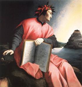 Allegorical Portrait of Dante - Agnolo Bronzino