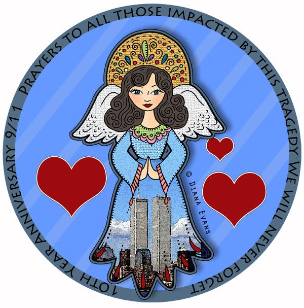 memorrial angel circle