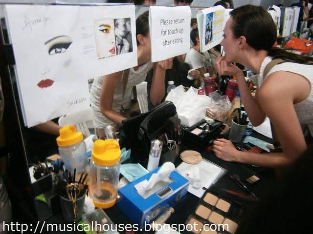 samsung fso makeup backstage