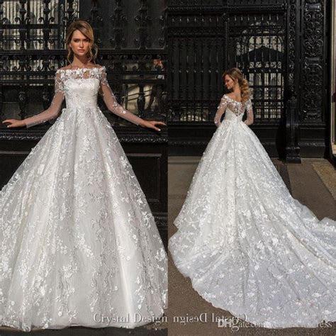 Beautiful Designer Long Sleeves Wedding Dresses 2018 Off