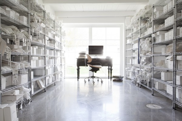 Scandinavia Home Library Design