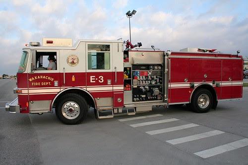 Waxahachie Fire Truck by paul.orear