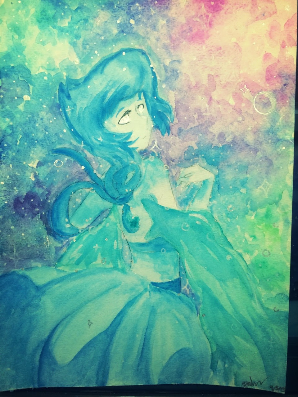 I painted lapis again bc I have a weakness