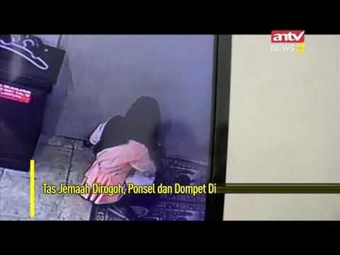 Wanita Berjilbab Mencuri di Dalam Masjid