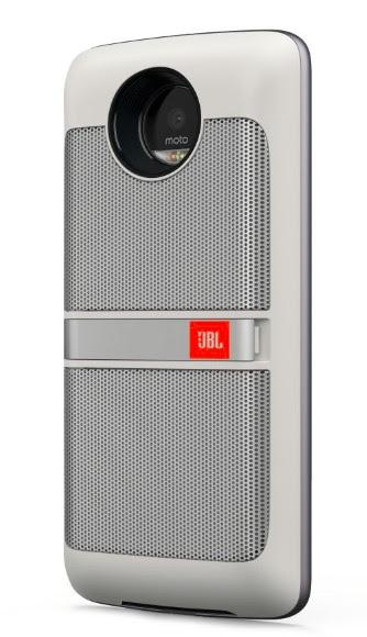 Moto Z JBL speaker mod