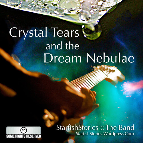 """Album cover preview: """"Crystal Tears and the Dream Nebulae"""""""